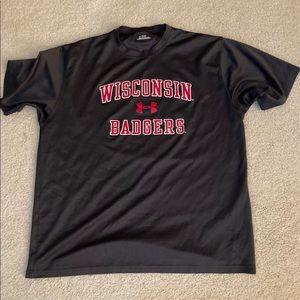 Under Armour University of Wisconsin Shirt